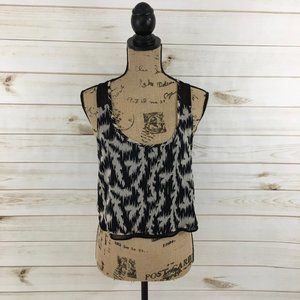 Black grey tank Urban Outfitters Silence Noise